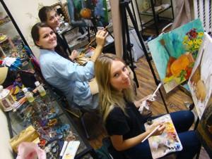 Пленэр молодых художников-2013