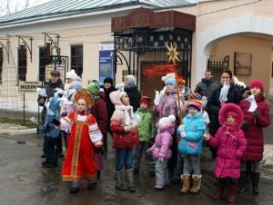 Святки в Коломенском кремле