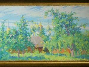 Выставка живописи коломенских художников