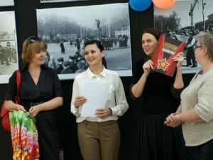 Фотоотчёт с открытия выставки «Мой Первомай»