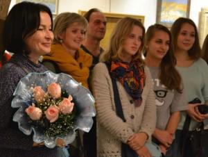 Фотоотчёт с открытия выставки Марии Циркиной-Богачёвой «Далеко-далёко»