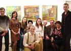 Фоторепортаж с открытия выставки Анны Чичуриной «Моя деревня»