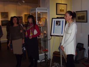 Фоторепортаж с открытия выставки памяти художника Вячеслава Баскакова