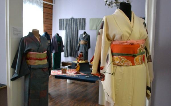 Традиционное кимоно Японии XX века. Репортаж с выставки