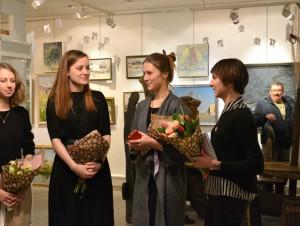 Открытие выставки «Фактура Т», арт-галерея «Лига»
