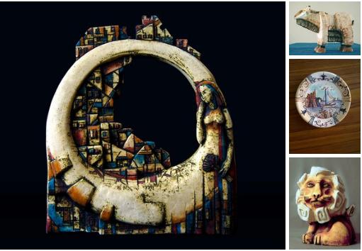 Выставка «Фактура Т». Керамика.  Арт-галерея «Лига», с 25 декабря 2016 г.