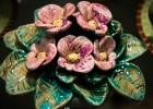 Выставка керамики Анны Шатинской