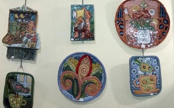 Авторская керамика в «Лиге»