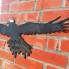 Кремлевский дворик прилетела ворона из легенды о Марине Мнишек