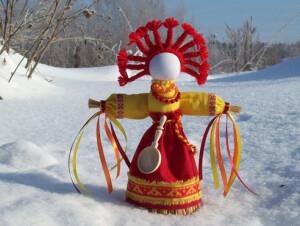 Весна в кремлёвском дворике